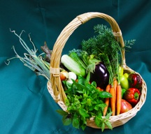 July harvest basket