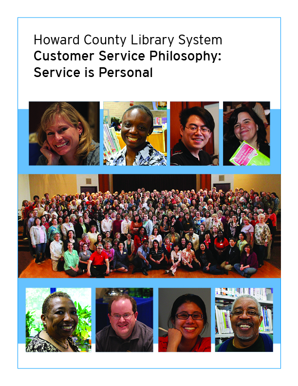 Customer Service Philosophy booklet cover